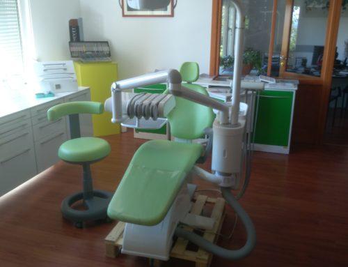 OMS Esse dentalna jedinica , 2  godine korištena, kupljena nova u svibnju 2017.