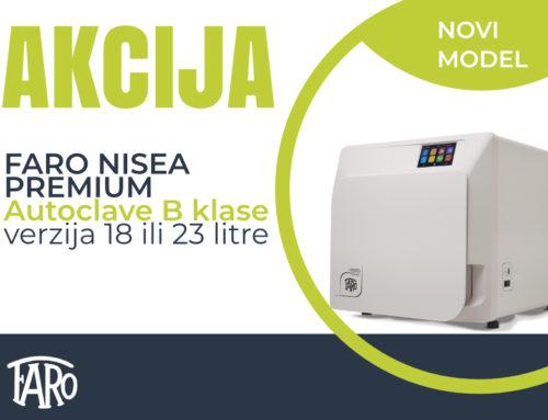 Faro AKCIJA-sterilizacija autoklav B klasa Nisea Premium
