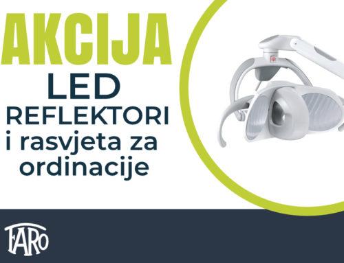 Faro AKCIJA- LED reflektori i rasvjeta za ordinacije, kamera