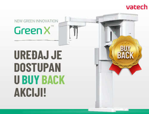 Green X Vatech 3D uređaj je dostupan u Buy Back Akciji!