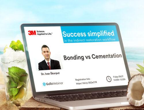 3M webinar 09.07. – Bonding vs. Cementation